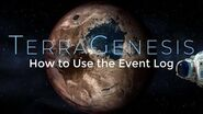 How to Use the Event Log - TerraGenesis Tutorials