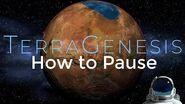TerraGenesis Tutorials- How To Pause