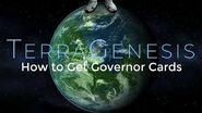 How to Get Governor Cards - TerraGenesis Tutorials