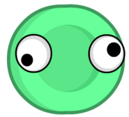 Mint OP 3 asset with eyes