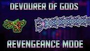 How to Beat the Devourer of Gods in Revengeance Mode! Calamity Mod 1