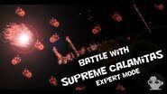 Террария Calamity мод Битва с Высшей Каламитас в Эксперт режиме.