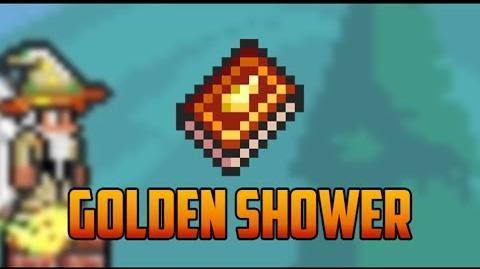 Terraria - Golden Shower Spell