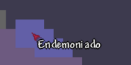 Endemoniado mapa