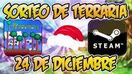 ¡¡¡SORTEO DE TERRARIA 24 DE DICIEMBRE 2016!!!
