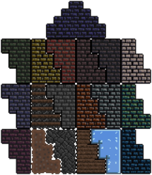 Примеры стен в игре