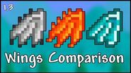 All Wings Comparison and Tier List - Terraria 1