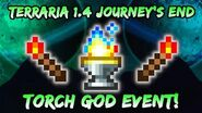 NEW Torch God EVENT! Terraria Journey's End! Torch God's Favor from Terraria 1