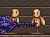 Pez espada de obsidiana