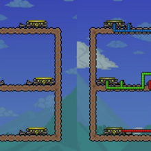 Teleporter Terraria Wiki Fandom Your sim will walk onto the nearest teleporter and be teleported to where you asked it to. teleporter terraria wiki fandom
