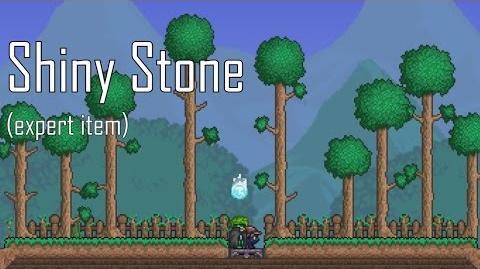 Блестящий камень