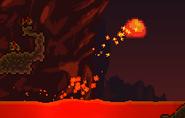 Babosa de lava natural