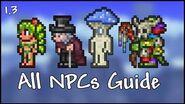 All NPCs Guide - Terraria 1