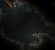 Blaue Moos Höhle