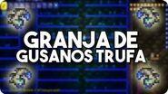 Granja de Gusanos Trufa FÁCIL - Terraria 1.3