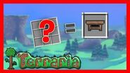 Como hacer un banco de trabajo terraria 1.4 2020 How to make a terraria workbench 1