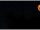 Тыквенная луна