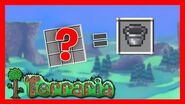 Como hacer un balde en Terraria 1.4 2020 How to make a bucket in Terraria 1