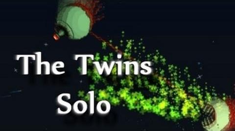 Terraria - The Twins, Hardmode boss
