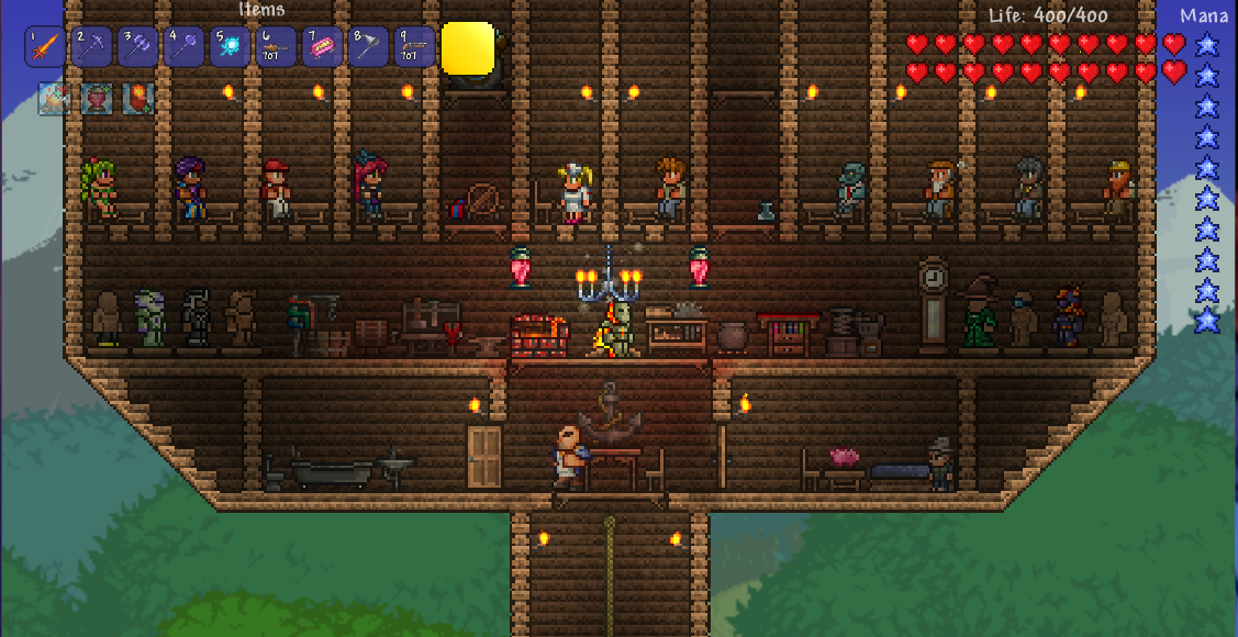 Guide Bases The Official Terraria Wiki 3 install solar source or juice for desired comfort. guide bases the official terraria wiki