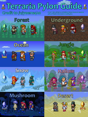 Pylons The Official Terraria Wiki Tagged with , creativity, , ; pylons the official terraria wiki