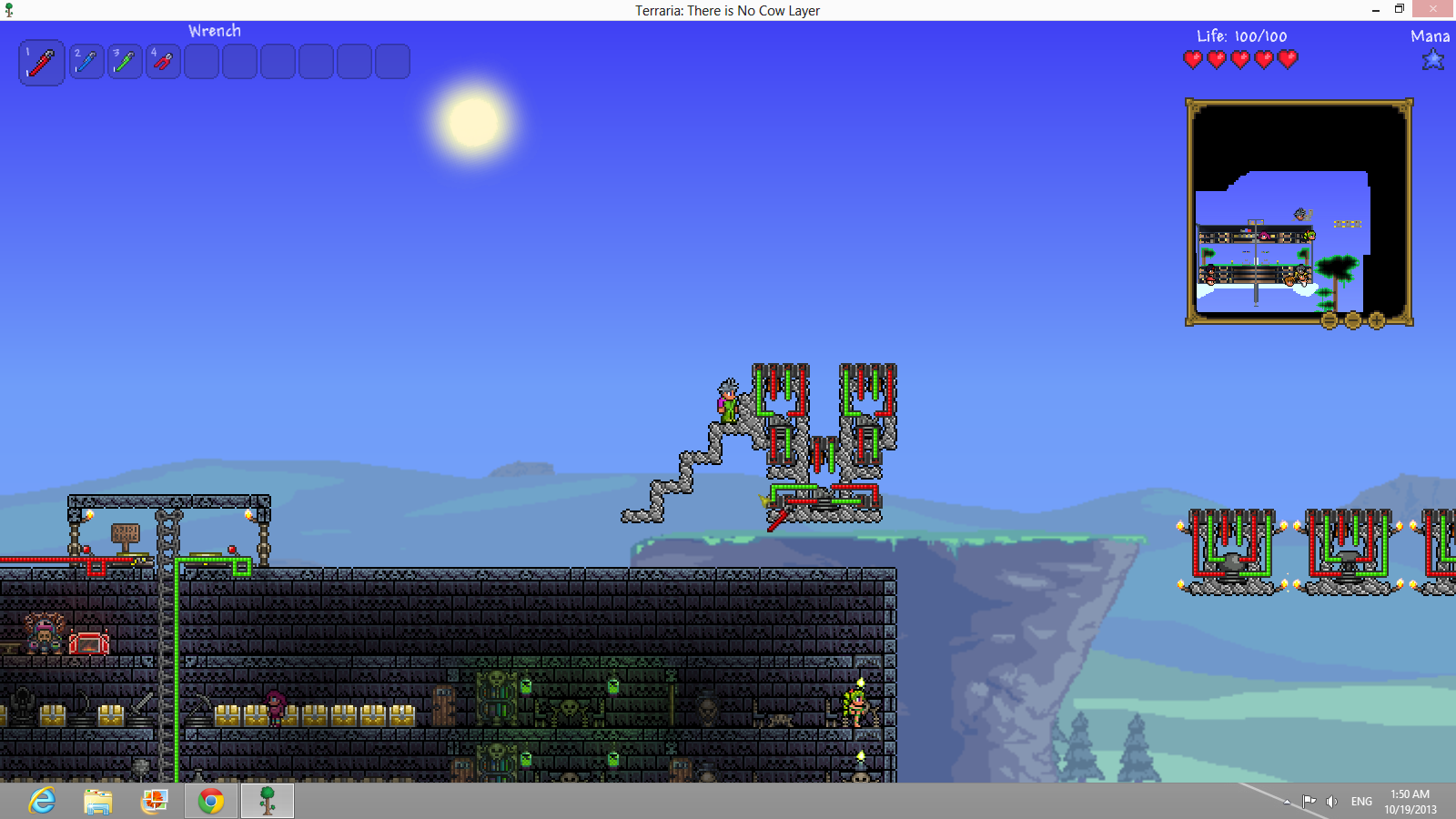 Guide Wiring The Official Terraria Wiki I don't know if a teleporter will work or not, but you really don't have to know anything about mystcraft at all to solve this particular problem. guide wiring the official terraria wiki