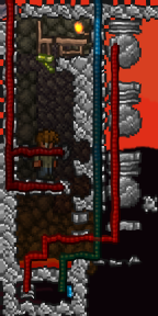 An example of a Guide's house for a WoF farm