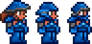 Cobalt armor equipped (female)