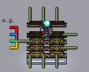 Teleporter The Official Terraria Wiki Adds teleport request commands, which teleports players if the other person accepts it. teleporter the official terraria wiki
