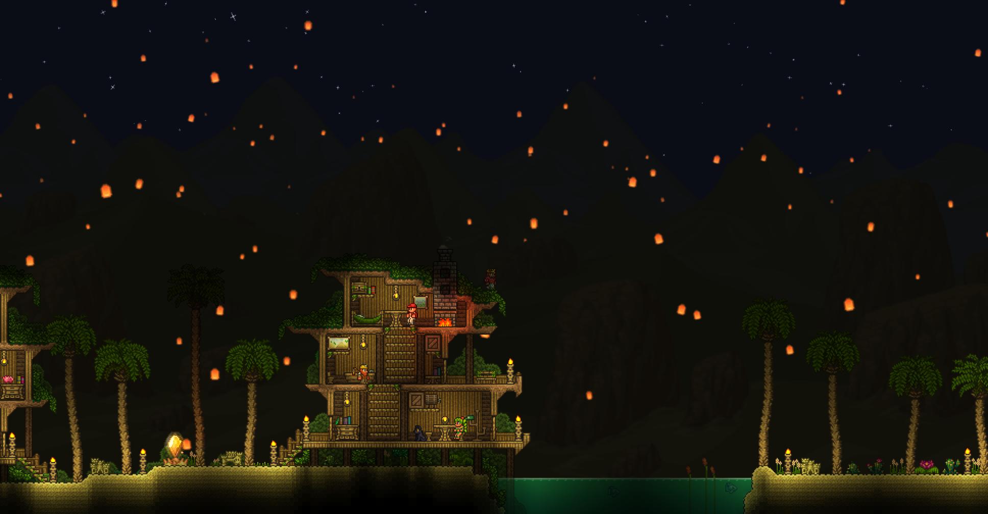 Lantern Night The Official Terraria Wiki