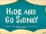 Hide And Go Sidney