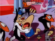 Gandy Goose and Sourpuss in Mighty Mouse The New Adventures 5