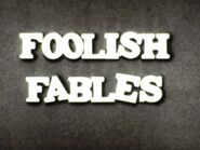 Castle Films 1941 Cartoon, Puddy the Pup in Foolish Fables