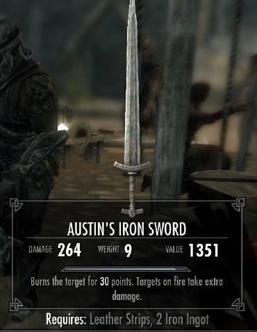 OP Iron Sword