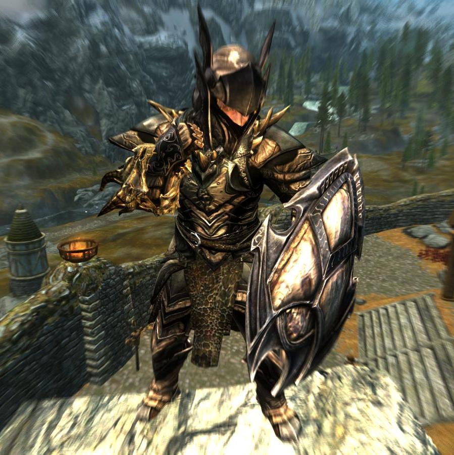 Dragon Knight Armor Immersive Armors The Elder Scrolls Mods Wiki Fandom Here presented 52+ knight in armor drawing images for free to download, print or share. the elder scrolls mods wiki fandom