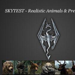SkyTEST - Realistic Animals and Predators