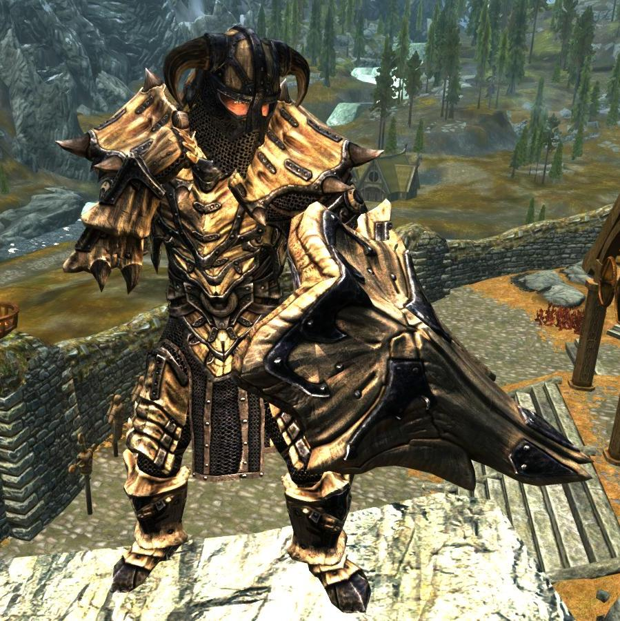Dragonbone Ebonsteel Armor Immersive Armors The Elder Scrolls Mods Wiki Fandom It has the power to absorb all kinds of energy.refine level +8:adds a 3. the elder scrolls mods wiki fandom