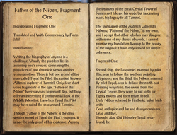Father of the Niben, Fragment One Pg1.png