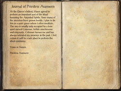 Journal of Priestess Aranwen.png