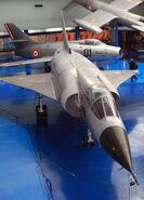 Mirage IIIV, Musee de l'Air et de l'Espace, Le Bourget, Paris. (8256549535)