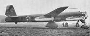 Junkers Ju 287 V1 side view