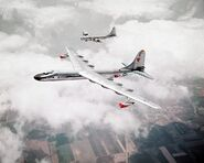 NB-36H with B-50, 1955 - DF-SC-83-09332