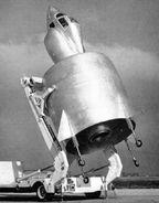 SNECMA Coléoptère on ramp 1959