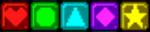 Tetris Attack panel colors