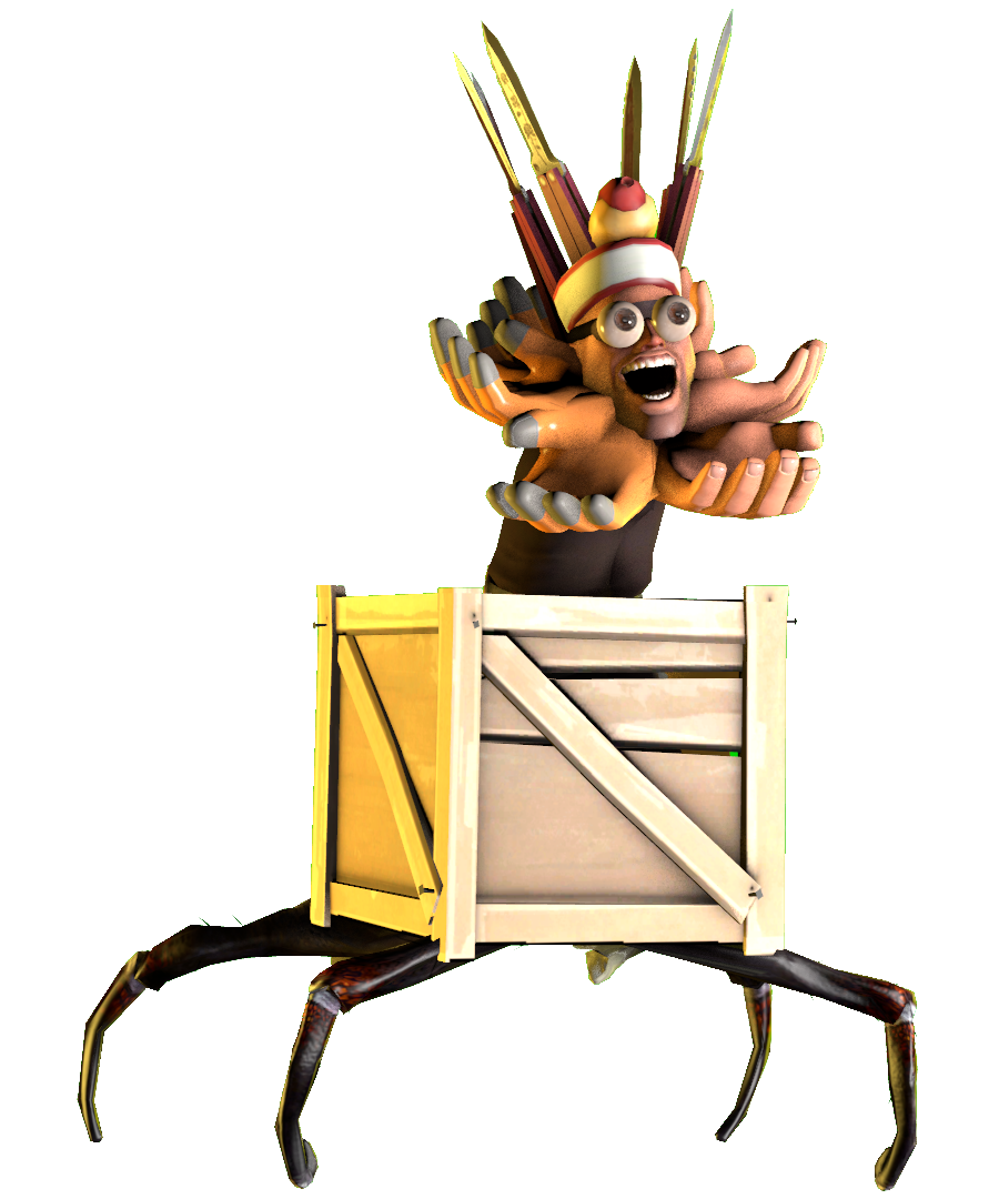 Squishy the Engy Fly Trap
