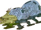 Quintesson warship