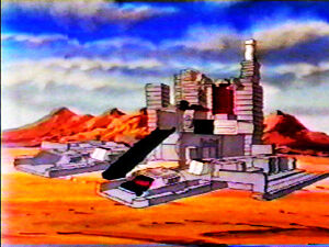 Autobot City - Nevada Desert