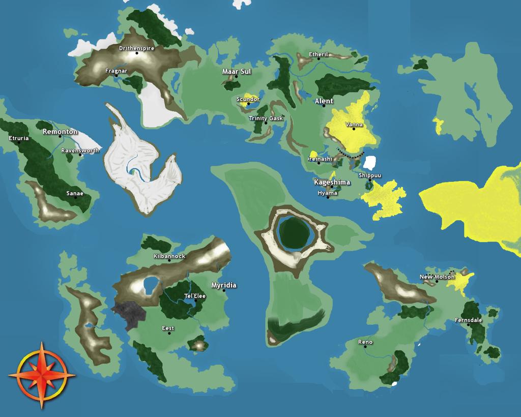 Fourth Age Map