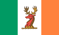 The flag of the Kingdom of Scundia