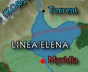 Map of the Linae'Elena